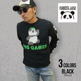 パンディエスタ|熊猫印PDJGAMESブロックラバーロングスリーブTee530101