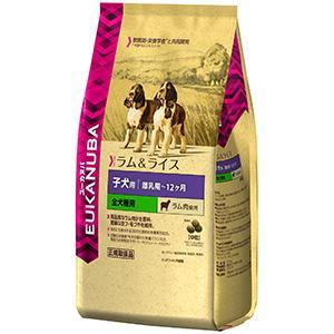 ユーカヌバ子犬用 離乳期~12ヶ月/全犬種用 ラム肉使用 中粒 2.7kg【P&G ドッグフード】