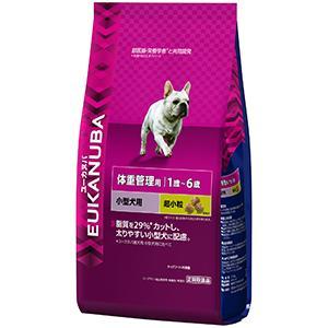 ユーカヌバ 1歳~6歳用 体重管理用 小型犬種(超小粒)2.7kg【P&G ドッグフード】