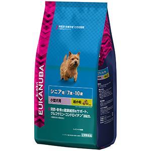 ユーカヌバ 7歳~10歳用 シニア 小型犬種(超小粒)2.7kg【P&G ドッグフード】