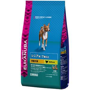 ユーカヌバ 7歳以上用 シニア 中型犬種(小粒)2.7kg【P&G ドッグフード】
