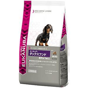 ユーカヌバ 成犬用 犬種別サポート ミニチュア・ダックスフンド 2.7kg【P&G ドッグフード】