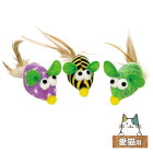 ペティオワイルドマウスカラフルテールマウス猫用おもちゃねずみのおもちゃ