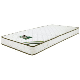 マットレス ポケットコイルマットレス コイル数 450個 厚み 19cm シングル ジャガード生地 キルティング加工 ファブリック 布製 シンプル ホワイト 白色 寝具 ベッド シングルマット ポケットマット Sマット
