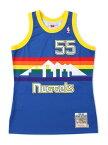 【送料無料】MITCHELL & NESS NBA AUTHENTIC JERSEY-NUGGETS/MUTOMBO#55【7226A-3A8-91DMU-BLUE】