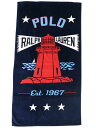 POLO RALPH LAUREN LIGHTHOUSE BEACH TOWEL【611741213001-B-NAVY】の商品画像