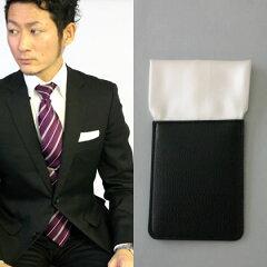 ポケットチーフ簡単装着!型崩れなし!贈り物に最適です☆大人気に尽き再入荷!フィックスポン...