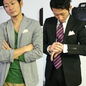 フィックスポンツーピークス【淡ピンク】【無地】fixponポケットチーフ