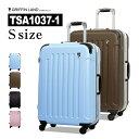 GRIFFINLAND フレームタイプスーツケース 全10色 Sサイズ TSA1037-1 9連休 夏休み お盆 帰省 海外 国内