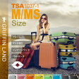 【送料無料 一年間保証】スーツケース キャリーケース キャリーバッグ GRIFFIN LAND TSA1037-1 M/MSサイズ 中型 4〜7日用に最適フレームタイプ おしゃれ スーツケース【あす楽対応】ハードケース