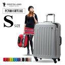 スーツケース Sサイズ キャリーケース キャリーバッグGRIFFINLAND PC7000 S 旅行カバン フレームタイプ 小型 おすすめ かわいい 安い ..