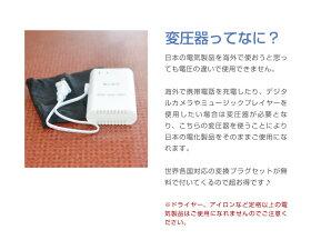 スーツケース同時購入者限定♪海外旅行用変圧器【全世界対応】【USB充電ポート付】今なら世界各国対応変換プラグ5個セットプレゼント付♪スーツケース同時購入者限定10P09Jul16