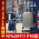 【クーポン発行中】GRIFFINLAND ファスナータイプスーツケース...