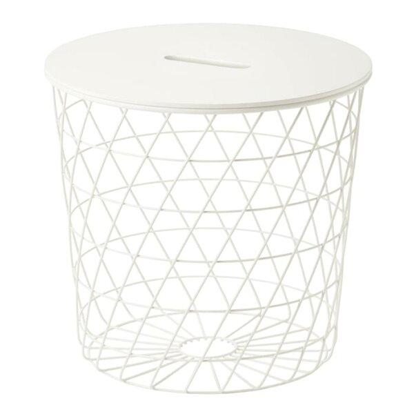 IKEA(イケア) IKEAイケアKVISTBROクヴィストブローサイドテーブル36x35cm10349453寝室ベッドルーム