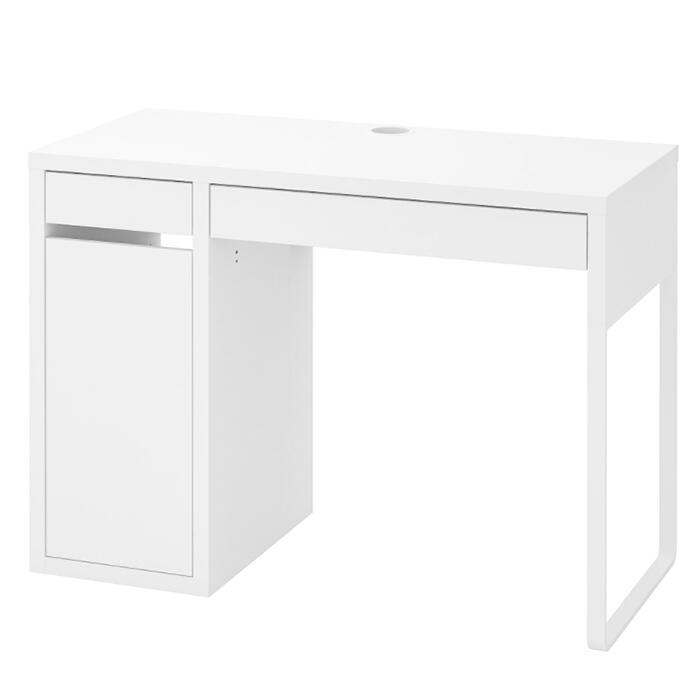 【楽天ランキング1位】 IKEA イケア MICKE ミッケ デスク 子供用 机 おしゃれ 北欧 かわいい 白 ホワイト 勉強机 学習机 おすすめ シンプル キッズ 木製 収納付き 引き出し付き