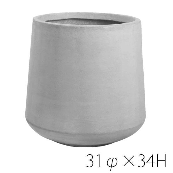 【週末限定クーポン!】Clay TERRA-MENT テラメント Drop Round 34プランター 鉢 大型 terracotta ※代引き・同梱不可