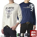 長袖Tシャツ メンズ ロンTee トップス クルーネック バイカープリント カットソー 大きいサイズ【D2I】【パケ2】の商品画像