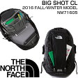 2016 F/W新作ザ ノースフェイスザック デイバック 登山 アウトドア 旅行 通学 通勤 ブラックTHE NORTH FACE BIG SHOT CL NM71605