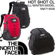 ザ ノースフェイスザック デイバック 登山 アウトドア 旅行 通学 通勤 ブラックTHE NORTH FACE HOT SHOT CL NM71606