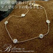 ブレスレット ダイヤモンド フラッグス