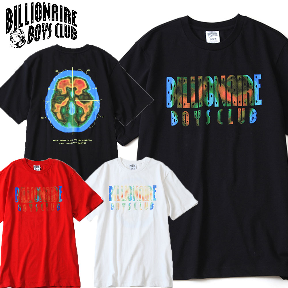 トップス, Tシャツ・カットソー BILLIONAIRE BOYS CLUB TGRAPHIC LOGO T-SHIRT