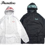 【Primitive/プリミティブ】アノラックパーカーナイロンフードジャケット/NUEVOCOLLEGIATEANORAK
