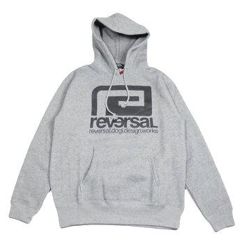 【REVERSAL/リバーサル】BIGMARKSWEATPARKA/ビックマークロゴパーカー