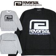 【REVERSAL/リバーサル】BIGMARKCREWNECKSWEAT/ビックマークロゴクールスウェット