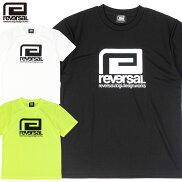 【reversal/リバーサル】ドライメッシュTシャツビッグマークロゴ半袖/BIGMARKDRYMESHTEErvbs028
