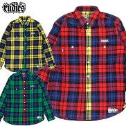 【RUDIE'S/ルーディーズ】チェックシャツrudies/PHATCHECKSHIRTS