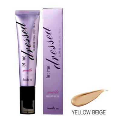 Let me Dressed Glam BB CREAM Matte Yellow Beige let me dresses g BB cream matte yellow beige SPF37 PA 35 ml Korea cosmetics / Korea cosmetics / Han Kos /BB cream /bb