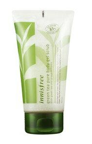 Green tea pure body gel scrub green tea pure body gel scrub 150 ml Korea cosmetics and Korea cosmetics and Korean COS /BB cream /bb