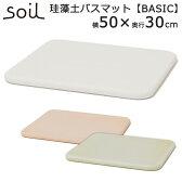 soil バスマット(300×500×28mm)ベーシック/BATH MAT BASIC/アッシュコンセプト【送料無料】【ポイント10倍/在庫有】【3/2】【あす楽】