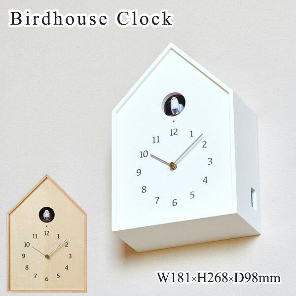 Birdhouse Clock バードハウスクロック NY16-12WH 鳩時計/タカタレムノス【海外×】【送料無料】【ポイント12倍/一部在庫有】【12/13】