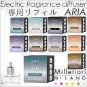 ミッレフィオーリ プラグイン ディフューザー アリア 専用リフィル/Millefiori MILANO Electric Fragrance deffuser ARIA【海外×】【ポイント5倍/在庫有】【3/13】