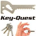 【メール便送料無料】KeyーQuest Standard キークエスト スタンダード 6in1の鍵型携帯ツール(SNL)【ポイント5倍/在庫有】【1/21】