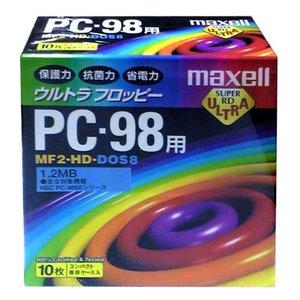 記録用メディア, フロッピーディスクメディア  maxell 3.5 PC98 MF2-HD.DOS8.B10P
