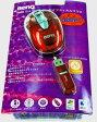 USBワイヤレス オプティカル マウスBenQ P600 (ミニサイズ) レッドFJ.90A88.UGP