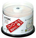 TDK データ用 DVD-R 4.7GB 8倍速 パールホワイト 50枚