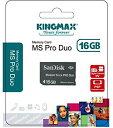 KINGMAX×SanDisk メモリースティック ProDuo 16GB 【メール便OK】