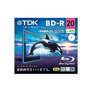TDK 録画用BD-R 25GB 4倍速対応 20枚