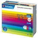 【お取り寄せ】Verbatim 片面2層 データ用DVD-R DL 8.5GB 8倍速 10枚 ワイドプリンタブル バーベイタム DHR85HP10V1 三菱