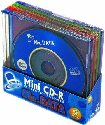 MR.DATA 8cm CD-R データ用 18...の商品画像