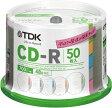 TDK データ用CD-R 700MB 48倍速 50枚 スピンドルケース インデックス・ディスク CD-R80TX50PA