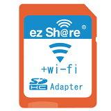 【数量限定☆在庫限り】ez Share Wifi機能付き SD変換アダプタ microSDHCカード対応 MLEZSDCAJP