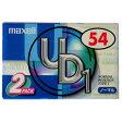 【アウトレット品】マクセル カセットテープ 54分 2本 ノーマルポジション maxell UD1-54N.2P