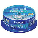 【訳アリ】マクセル くり返し録画用DVD-RAM 120分 3倍速 20枚 CPRM対応 Maxell DRM120B.20SP A