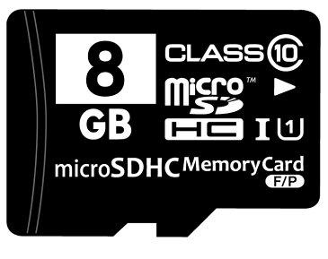 ☆バルク品☆microSDHCカード Class10 8GB SD変換アダプター/プラケース付き MFMCSDHC10X8G_BULK 【メール便OK】【返品交換不可】