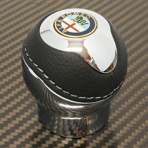 Alfa Romeo(アルファロメオ)リバースロック対応シフトノブTUNE(クローム/エンブレム)