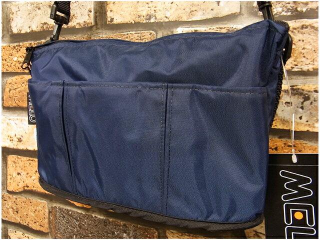 男女兼用バッグ, ショルダーバッグ・メッセンジャーバッグ  MELO RB11 SMALL OVAL SHAPED BAG (MIDNIGHTNAVY) USA